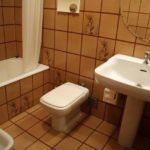 Bagno con vasca dell' Appartamento Grande